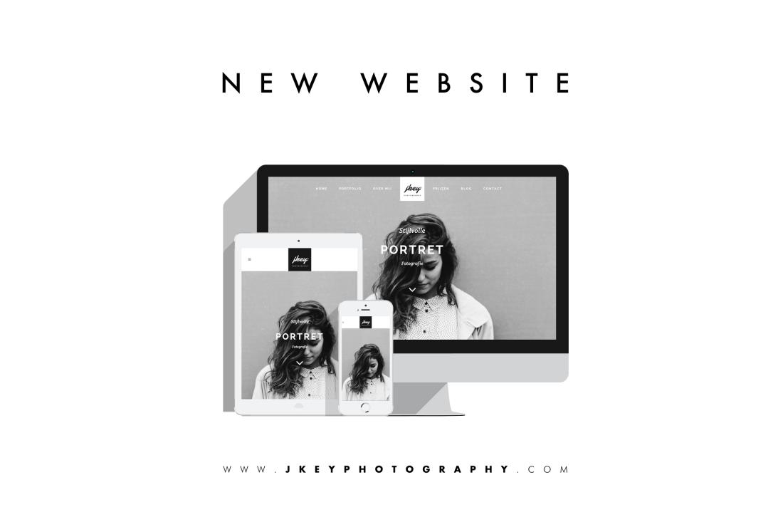 foto nieuwe minimalistische website fotograaf JKey Photography
